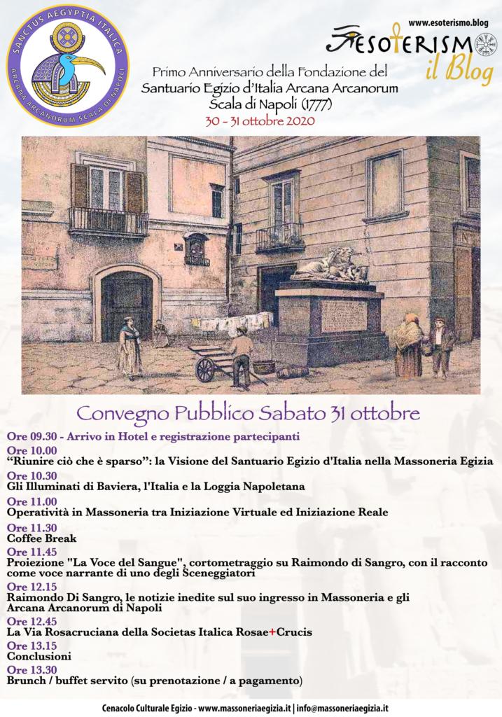 Convegno Pubblico sabato 31 ottobre 2020