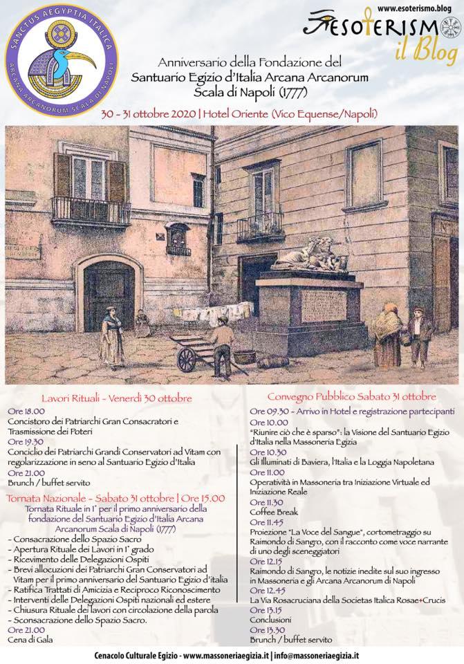 Celebrazioni per l'Anniversario del Santuario Egizio d'Italia | 30-31 ottobre 2020
