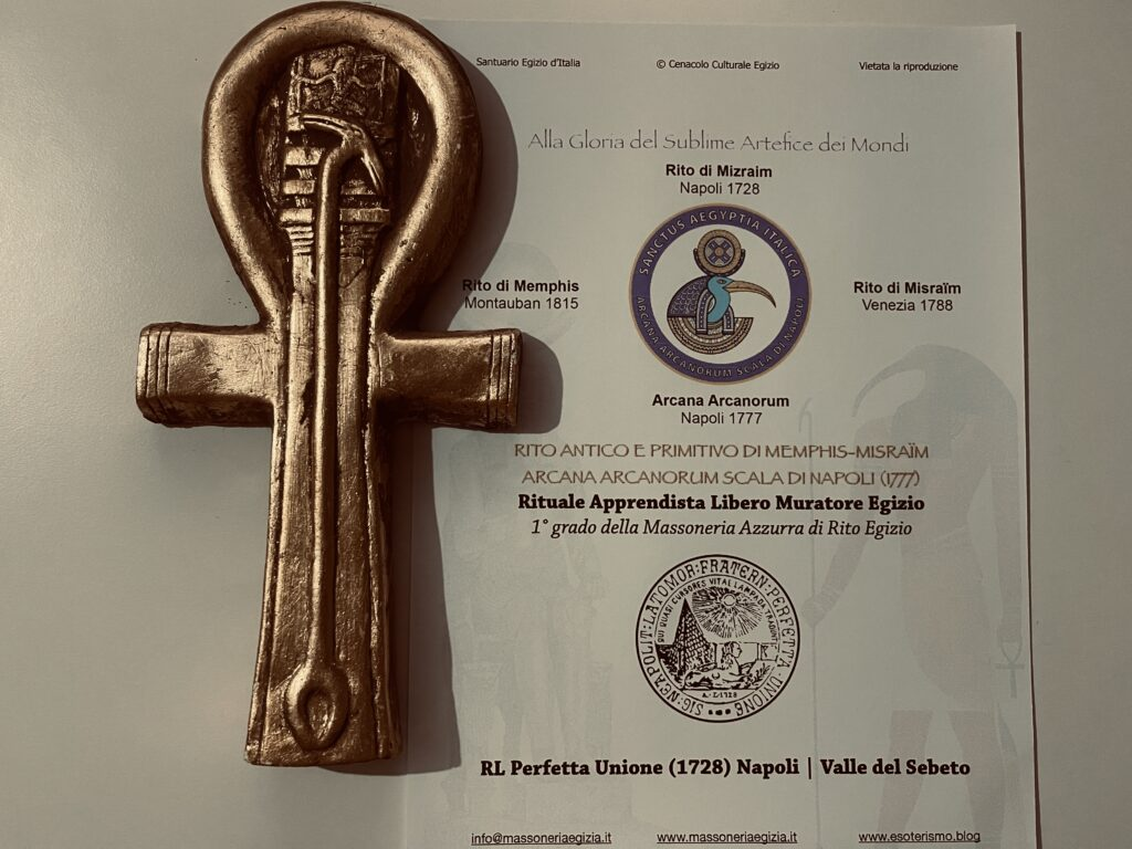 Ankh Rituale in Massoneria